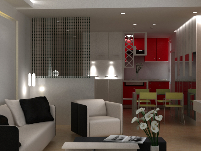 Living room 102 3d model buy living room 102 3d model for Living room 102