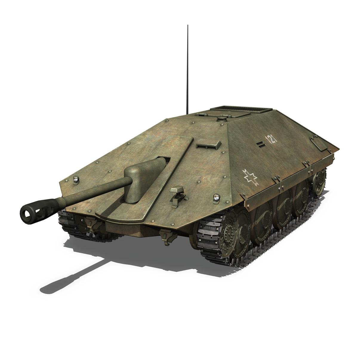 maresal m06 – romanian tank destroyerr 3d model 3ds fbx c4d lwo obj 189660