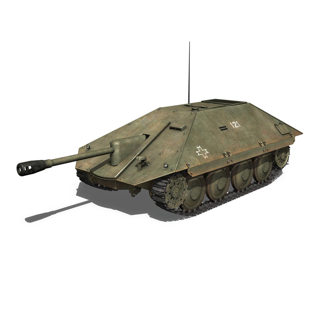 maresal m06 – romanian tank destroyerr 3d model 3ds fbx c4d lwo obj 189661