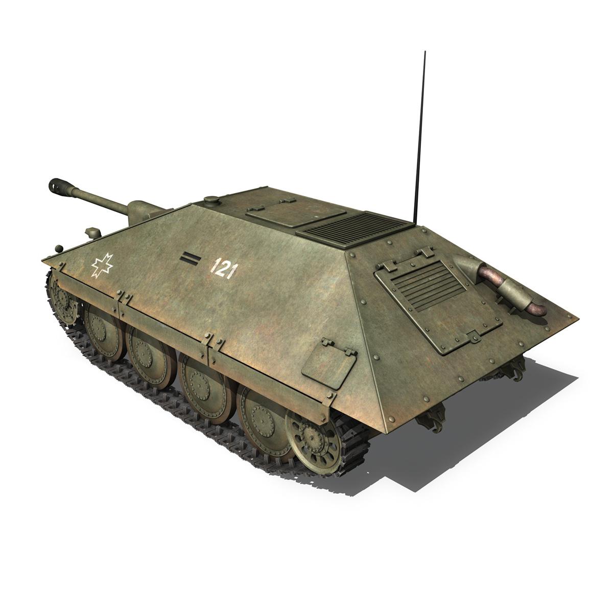 maresal m06 – romanian tank destroyerr 3d model 3ds fbx c4d lwo obj 189662