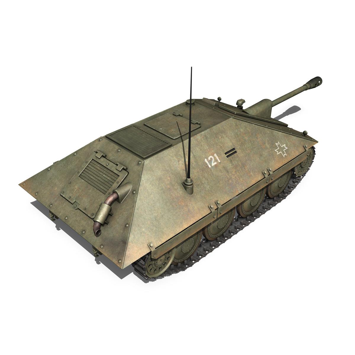 maresal m06 – romanian tank destroyerr 3d model 3ds fbx c4d lwo obj 189664