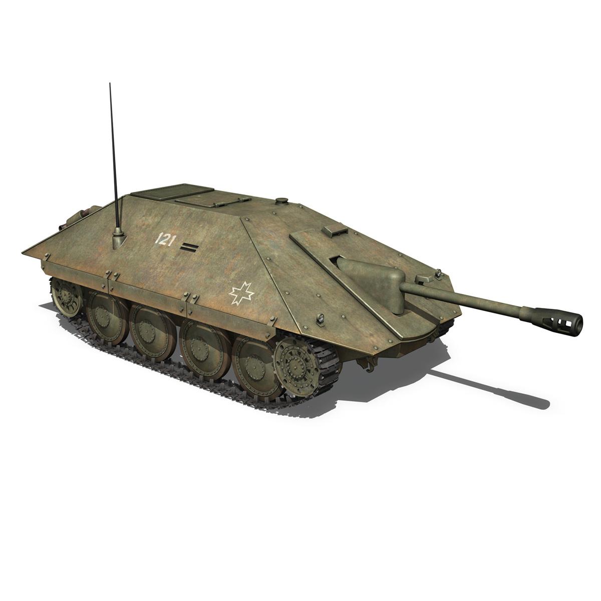maresal m06 – romanian tank destroyerr 3d model 3ds fbx c4d lwo obj 189665
