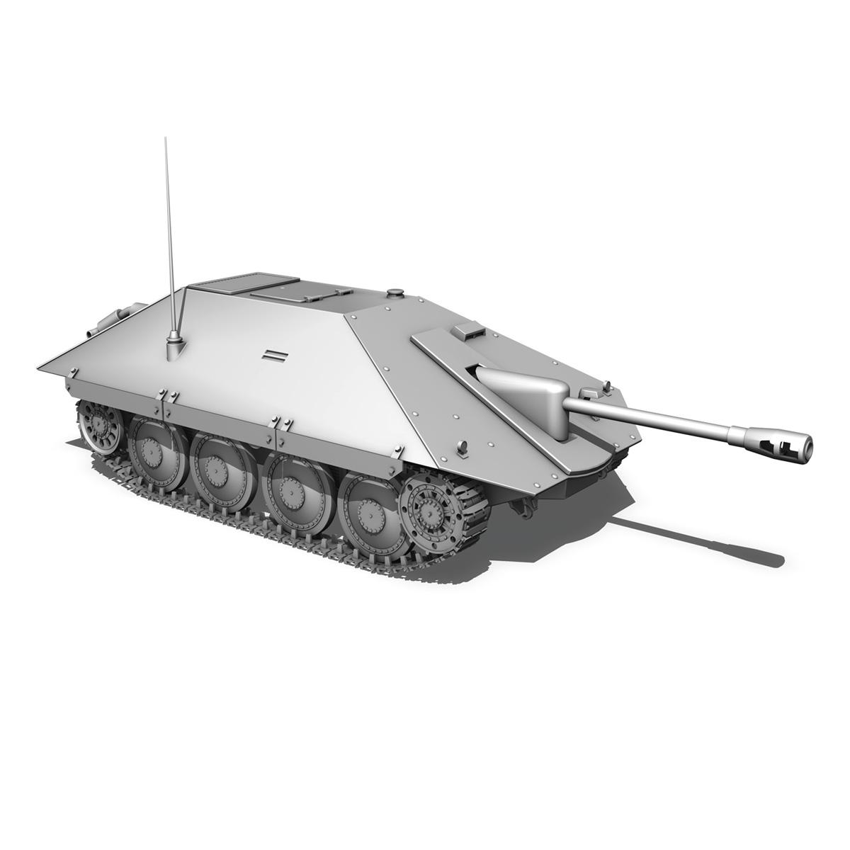 maresal m06 – romanian tank destroyerr 3d model 3ds fbx c4d lwo obj 189667