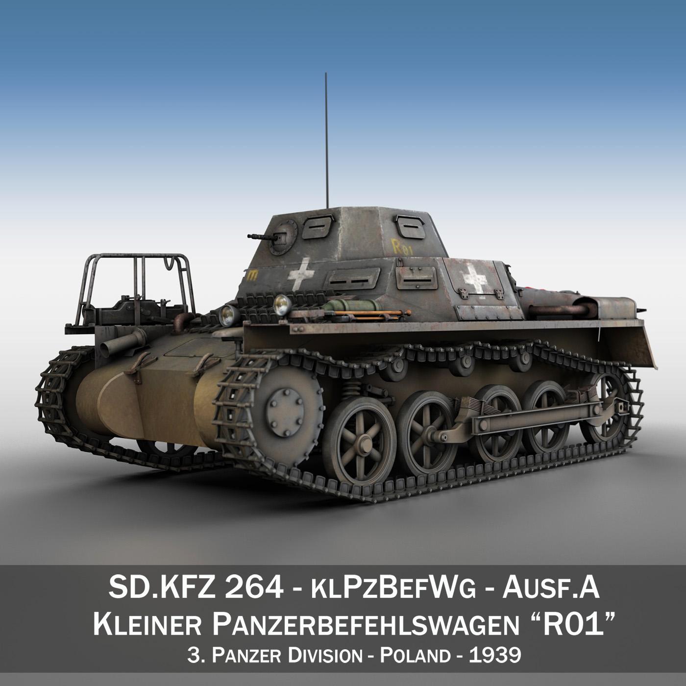 sd.kfz 265 - klpzbefwg - ausf. a - r01 3d modell 3ds fbx c4d lwo obj 189825