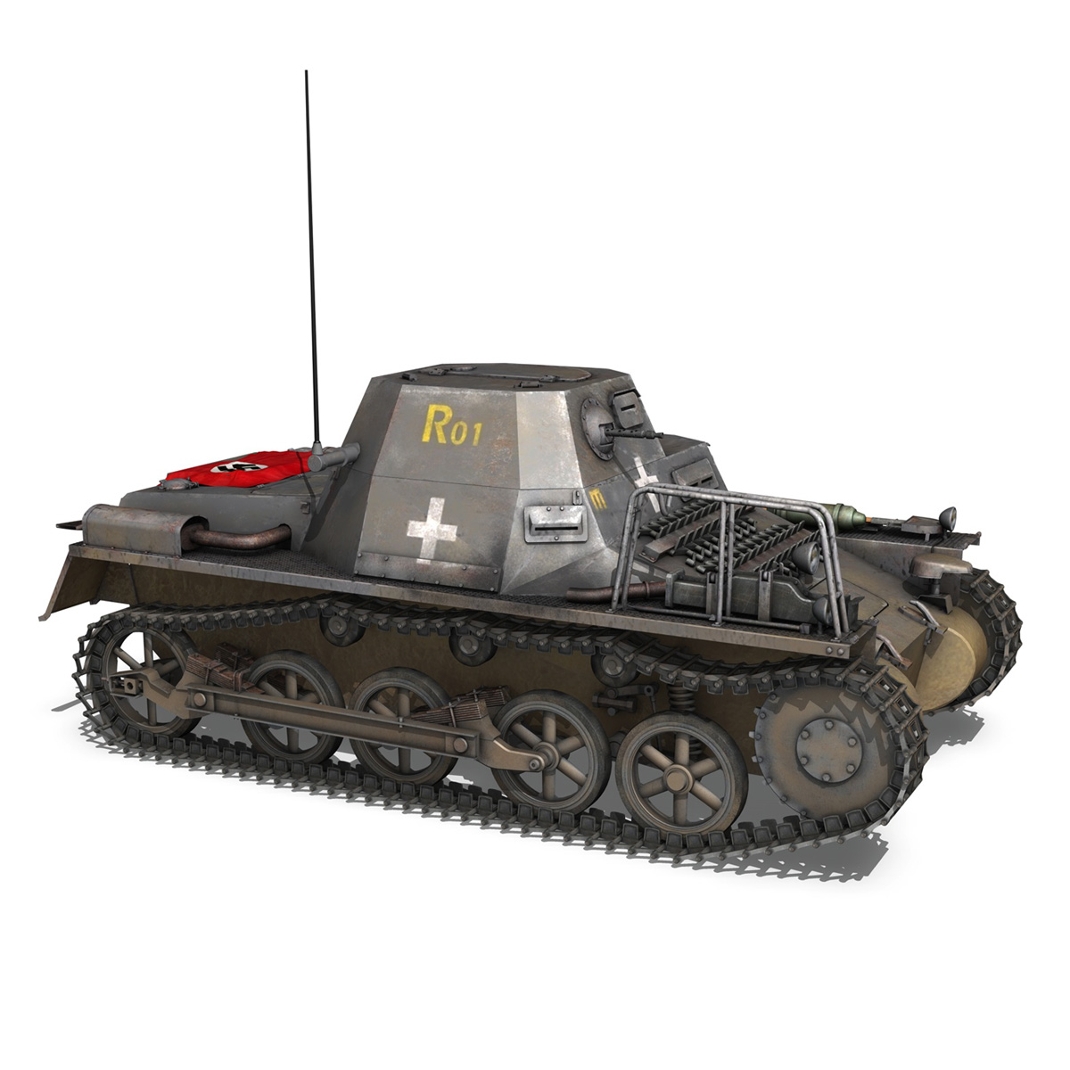 sd.kfz 265 – klpzbefwg – ausf. a – r01 3d model 3ds fbx c4d lwo obj 189830