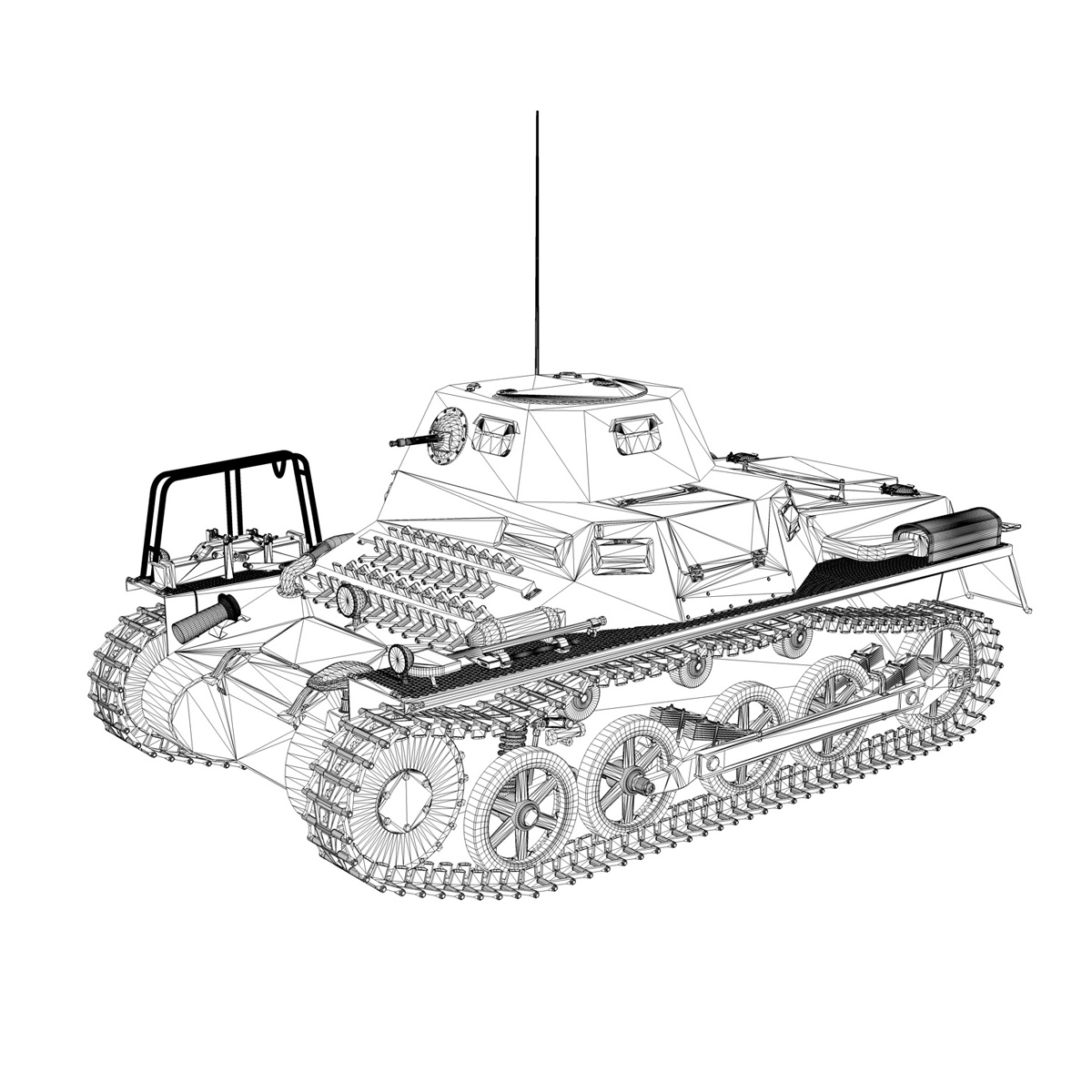 sd.kfz 265 – klpzbefwg – ausf. a – r01 3d model 3ds fbx c4d lwo obj 189834