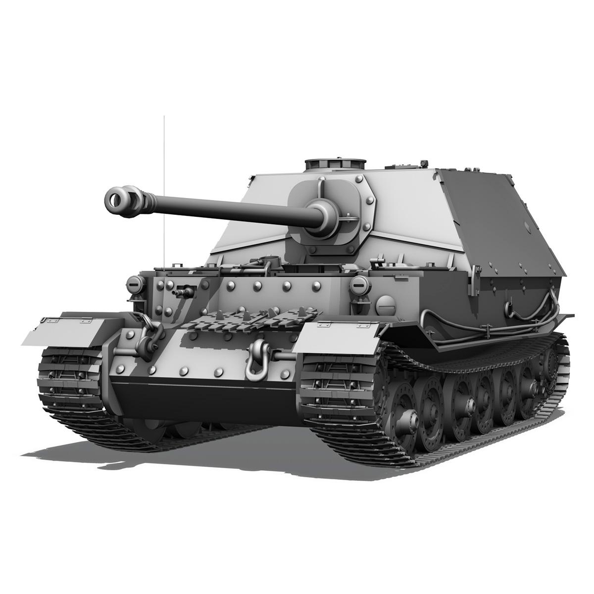 sd.kfz 184 – heavy tank destroyer tiger elefant 3d model fbx c4d lwo 3dm obj 189948