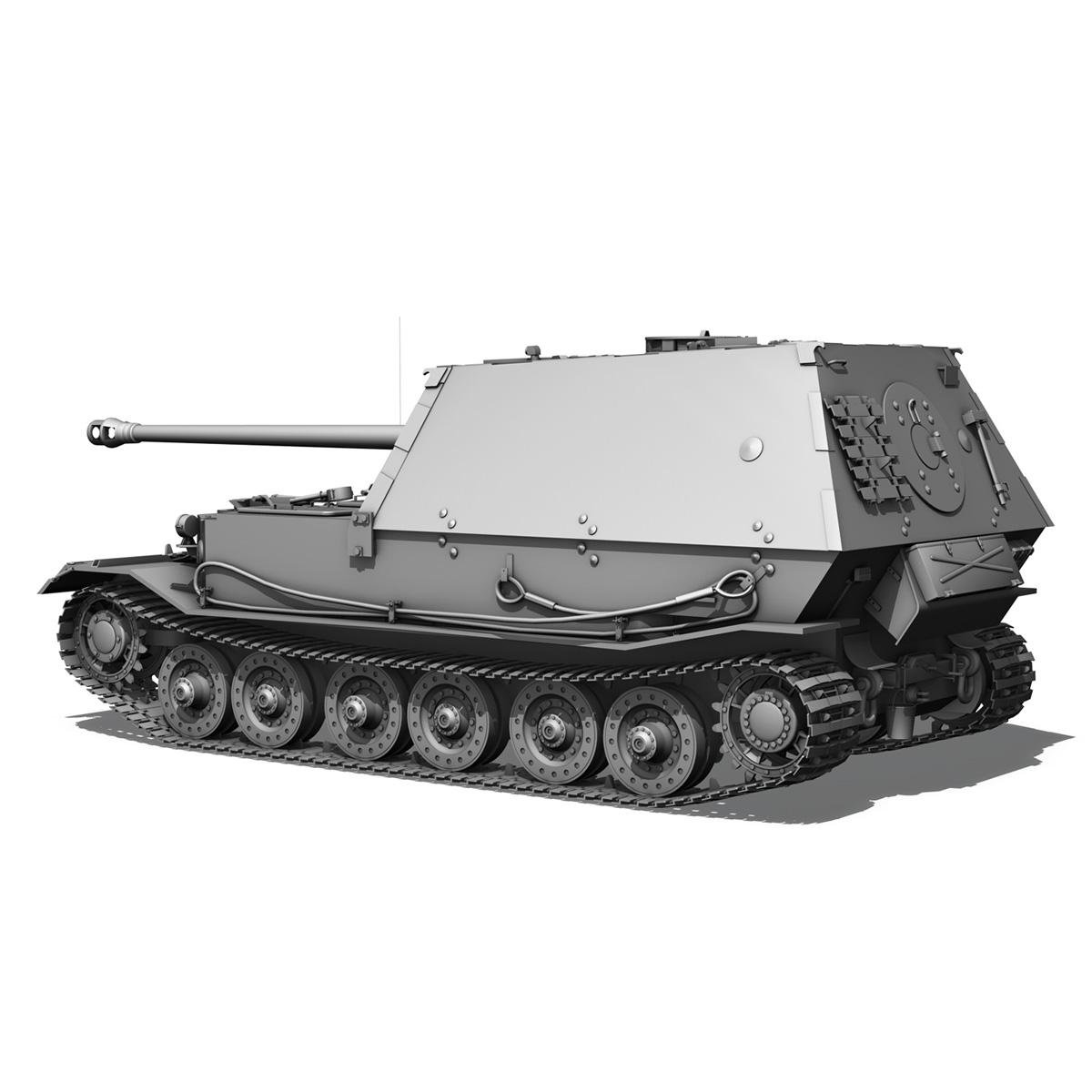 sd.kfz 184 – heavy tank destroyer tiger elefant 3d model fbx c4d lwo 3dm obj 189950