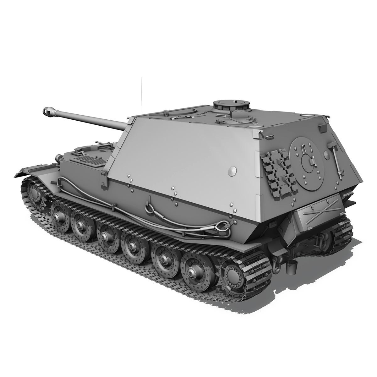 sd.kfz 184 – heavy tank destroyer tiger elefant 3d model fbx c4d lwo 3dm obj 189951