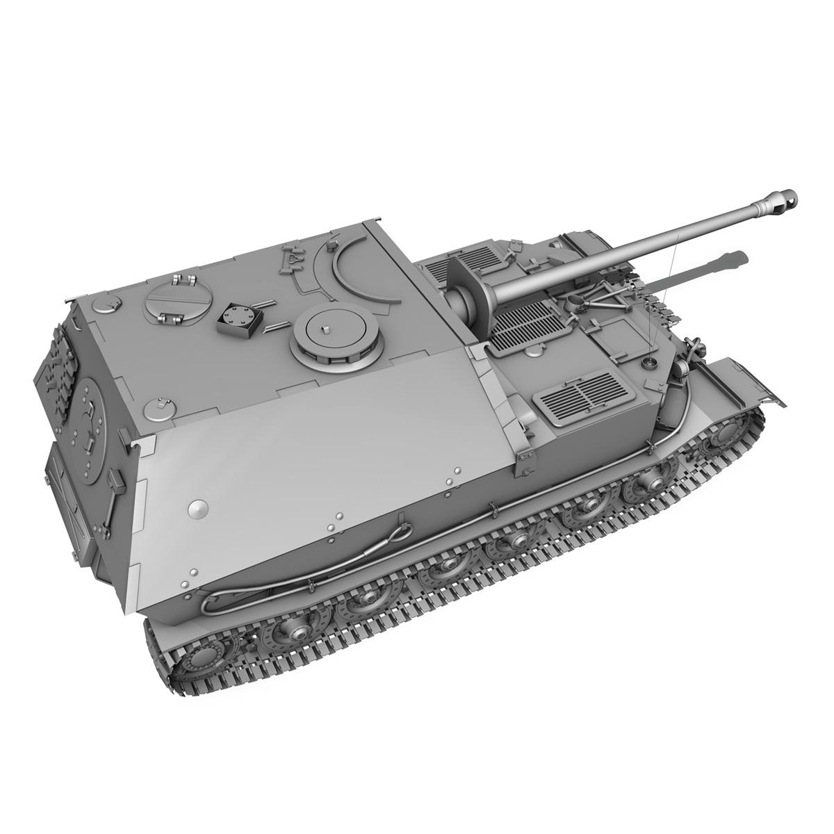 sd.kfz 184 – heavy tank destroyer tiger elefant 3d model fbx c4d lwo 3dm obj 189952