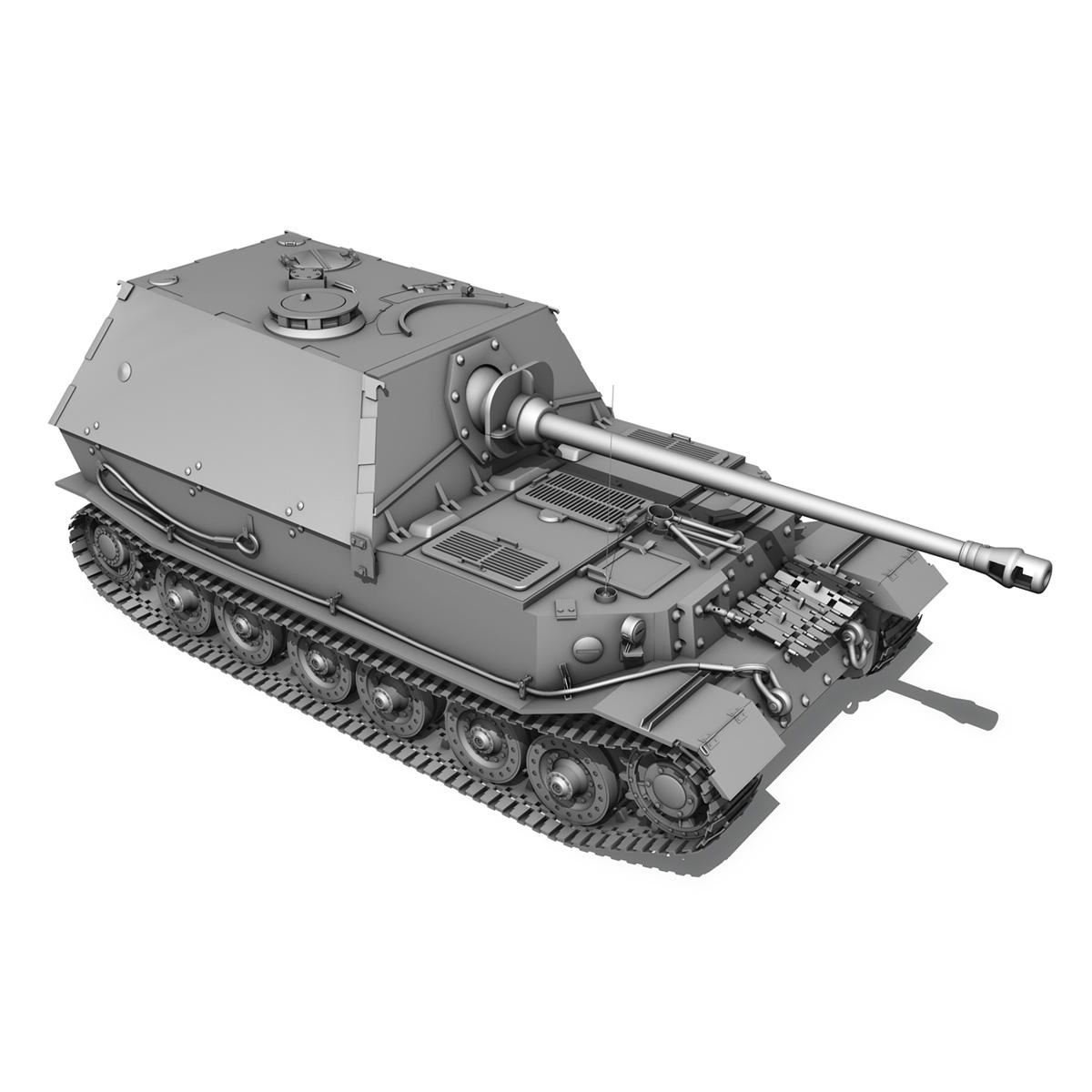 sd.kfz 184 – heavy tank destroyer tiger elefant 3d model fbx c4d lwo 3dm obj 189953