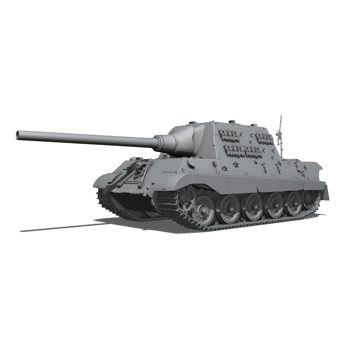 sd.kfz 186 jagdtiger hunting tiger 3d model 3ds fbx c4d lwo obj 189960