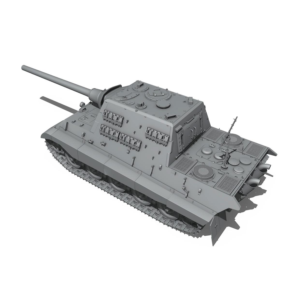 sd.kfz 186 jagdtiger hunting tiger 3d model 3ds fbx c4d lwo obj 189962