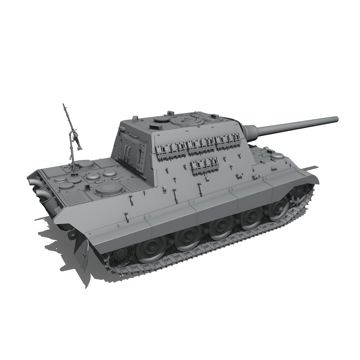 sd.kfz 186 jagdtiger hunting tiger 3d model 3ds fbx c4d lwo obj 189964