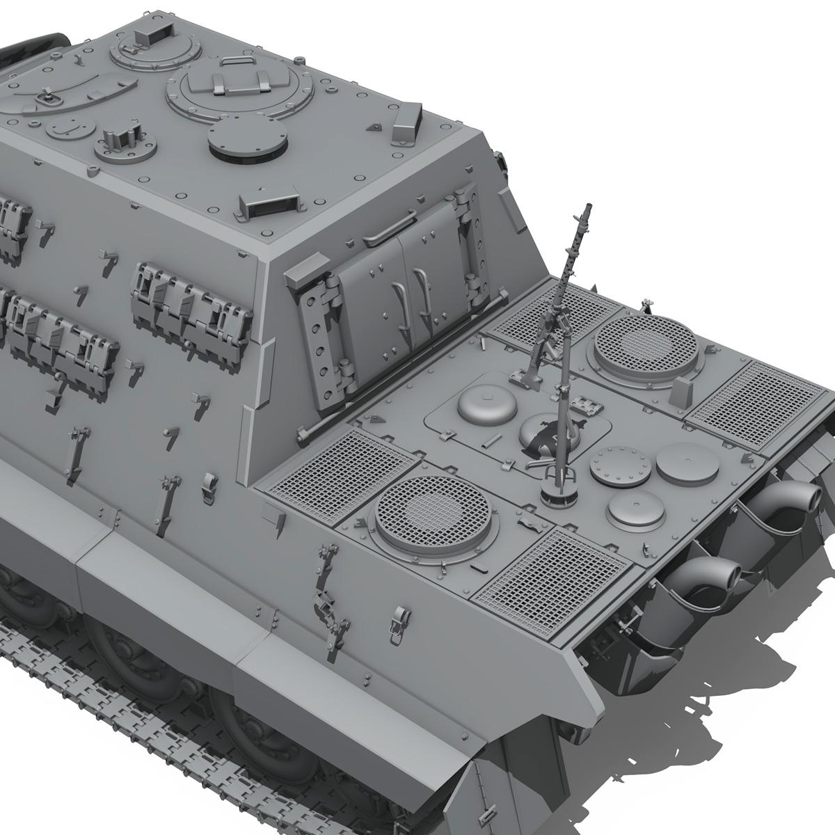 sd.kfz 186 jagdtiger hunting tiger 3d model 3ds fbx c4d lwo obj 189965