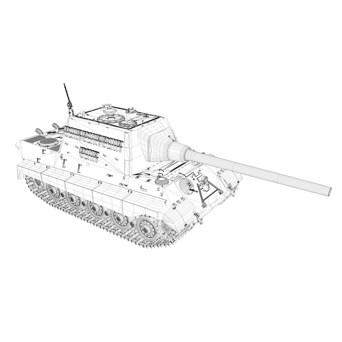 sd.kfz 186 jagdtiger hunting tiger 3d model 3ds fbx c4d lwo obj 189967
