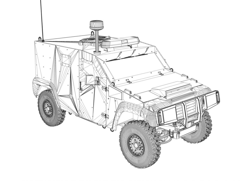auverland panhard pvp – gendarmerie 3d model 3ds fbx c4d lwo obj 190075