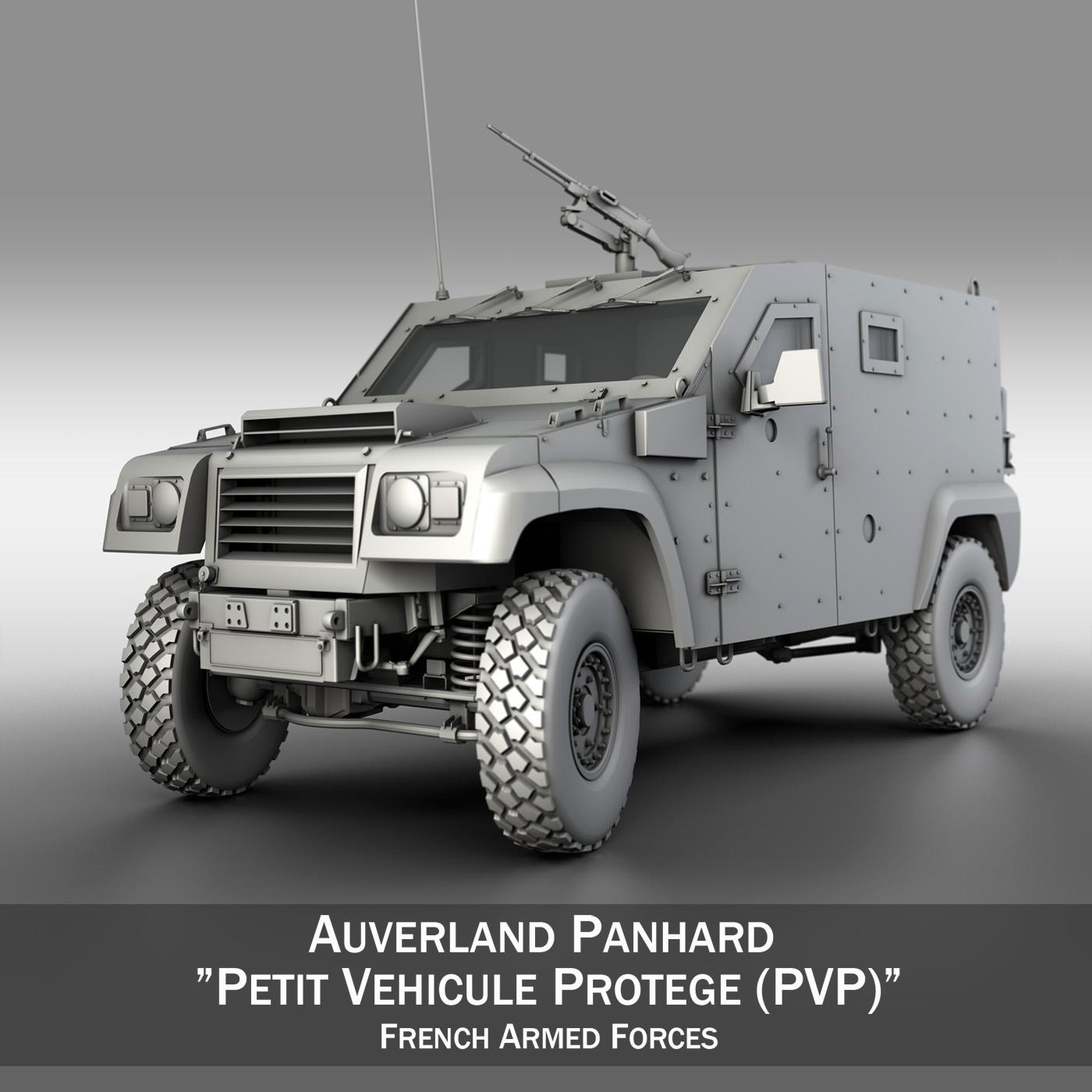 auverland panhard PVP - petit vehicule protege 3d modelis 3ds fbx c4d lwo obj 190124