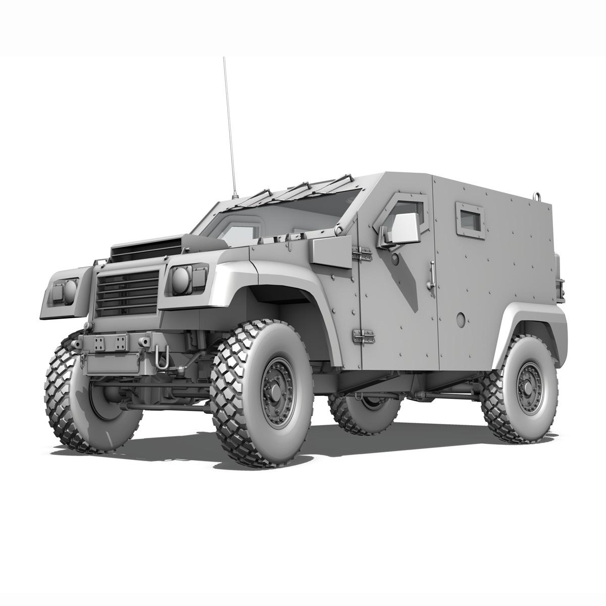 auverland panhard pvp – petit vehicule protege 3d model 3ds fbx c4d lwo obj 190125