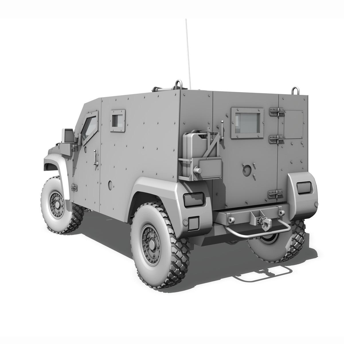 auverland panhard pvp – petit vehicule protege 3d model 3ds fbx c4d lwo obj 190127