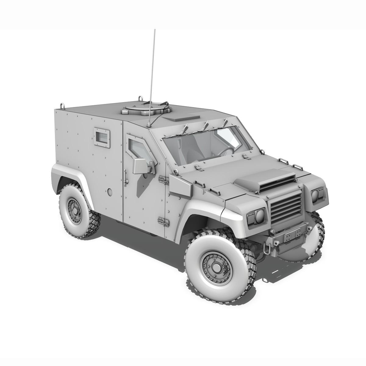 auverland panhard pvp – petit vehicule protege 3d model 3ds fbx c4d lwo obj 190129