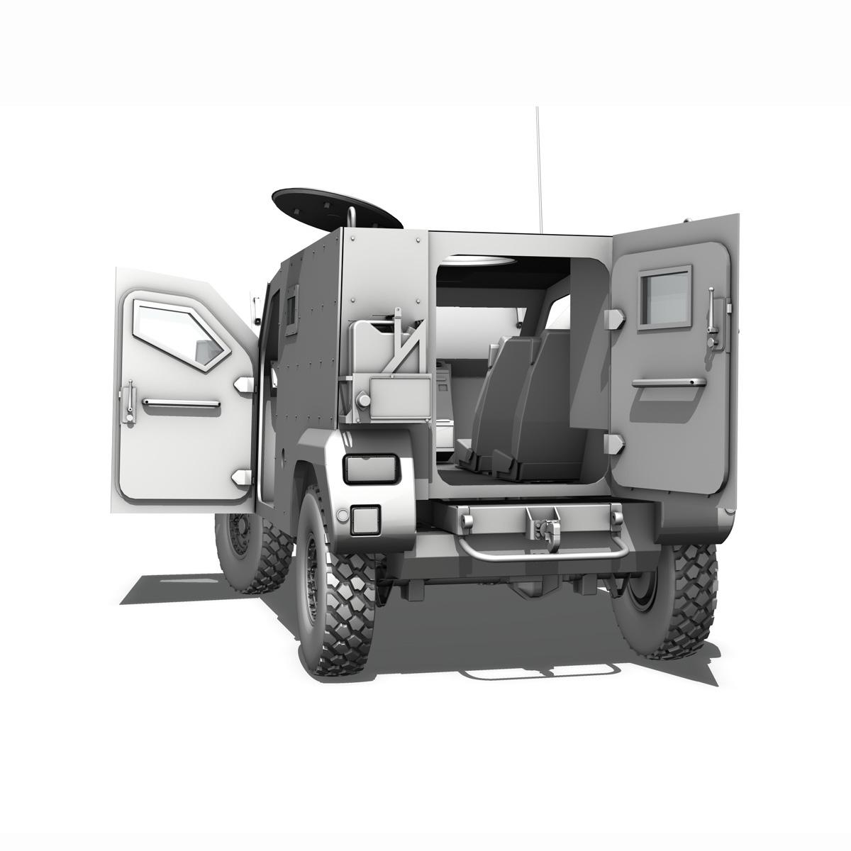auverland panhard pvp – petit vehicule protege 3d model 3ds fbx c4d lwo obj 190130