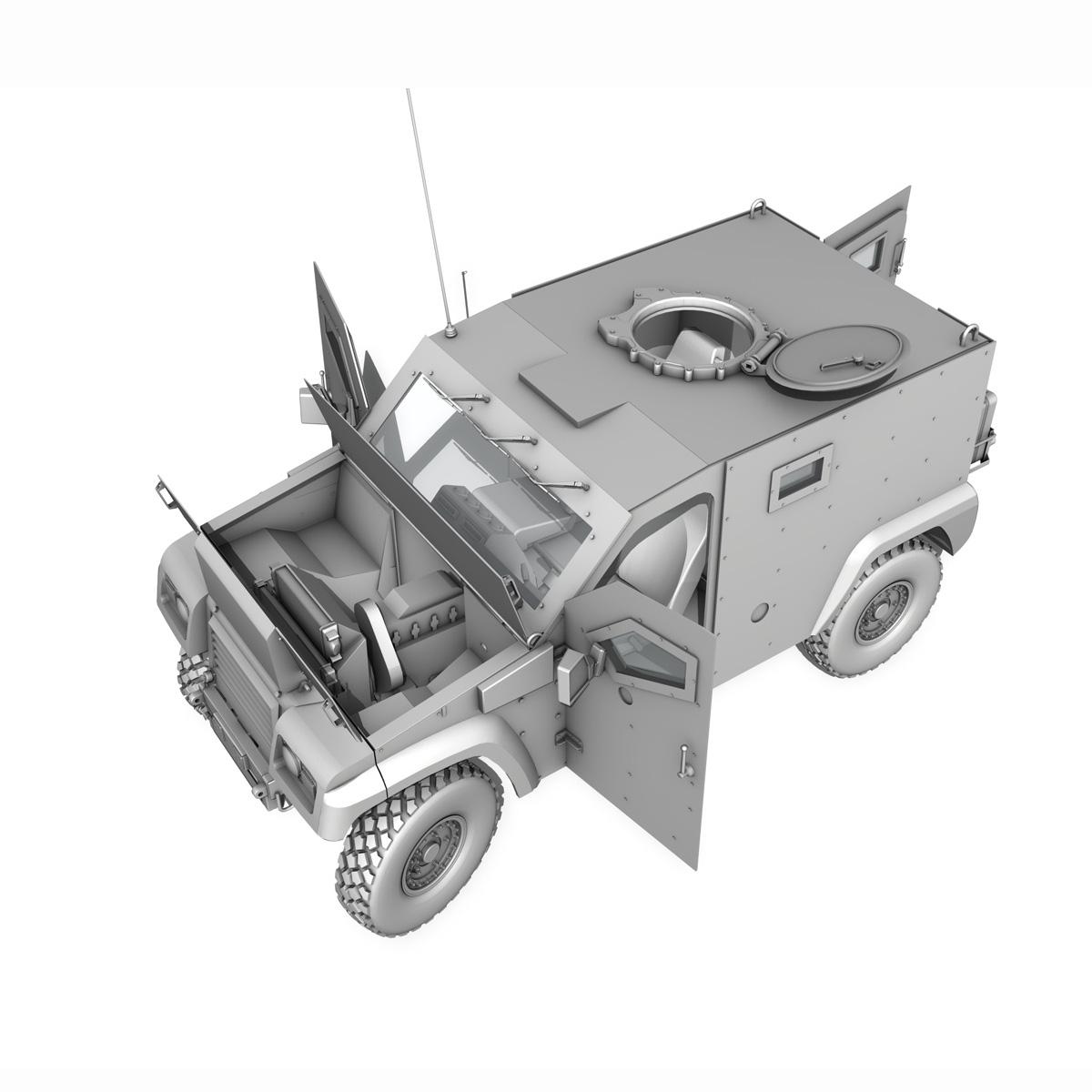 auverland panhard pvp – petit vehicule protege 3d model 3ds fbx c4d lwo obj 190131