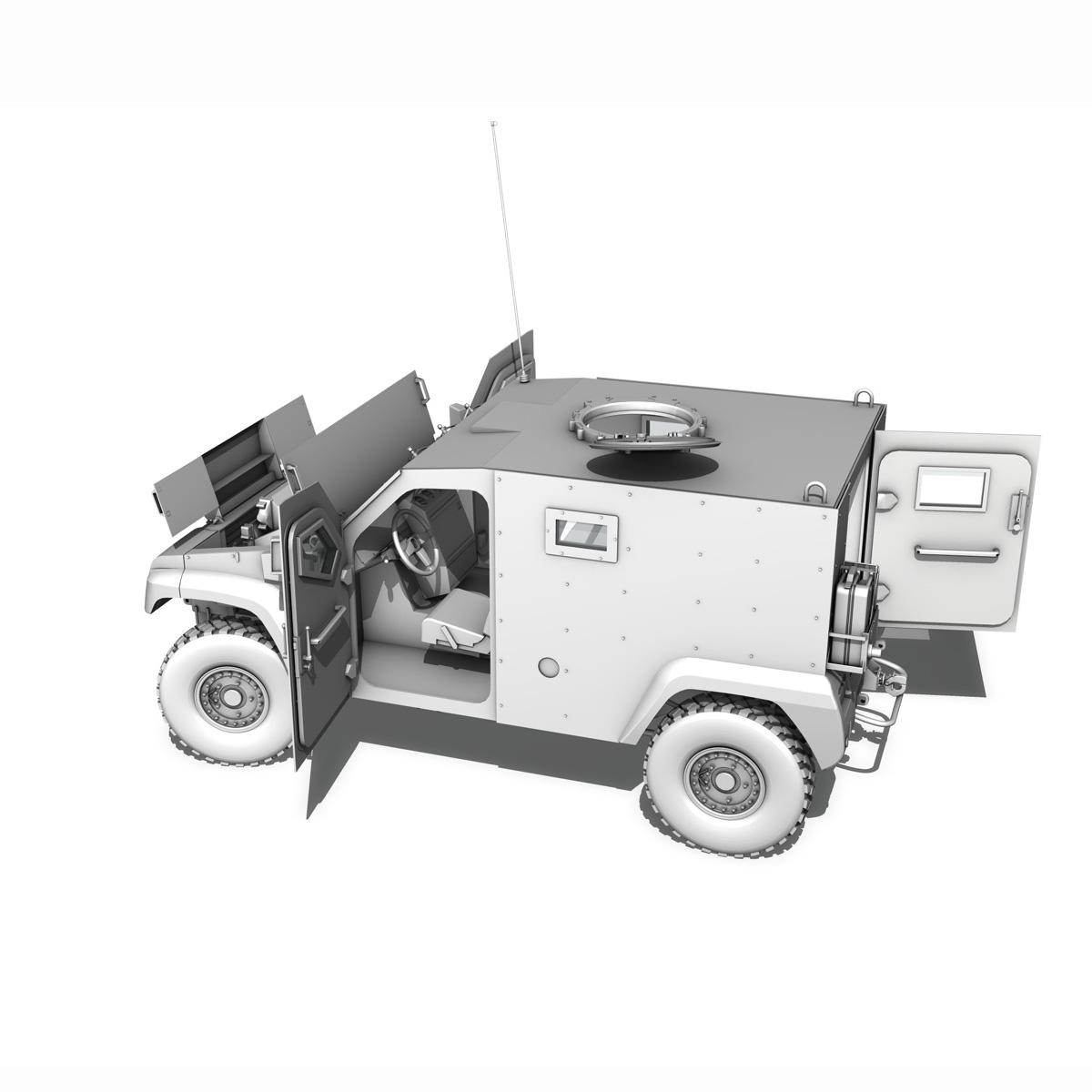 auverland panhard pvp – petit vehicule protege 3d model 3ds fbx c4d lwo obj 190132