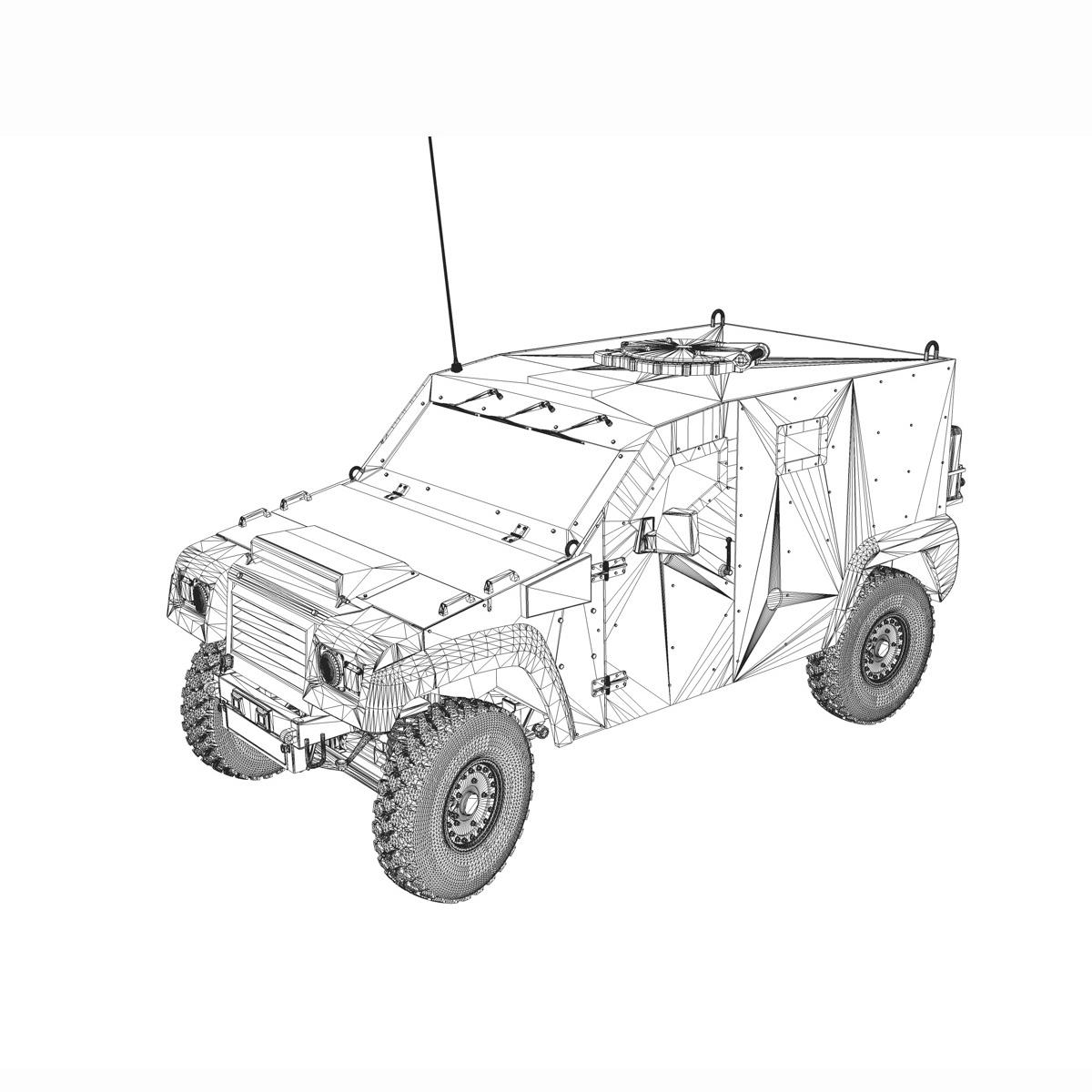 auverland panhard pvp – petit vehicule protege 3d model 3ds fbx c4d lwo obj 190133
