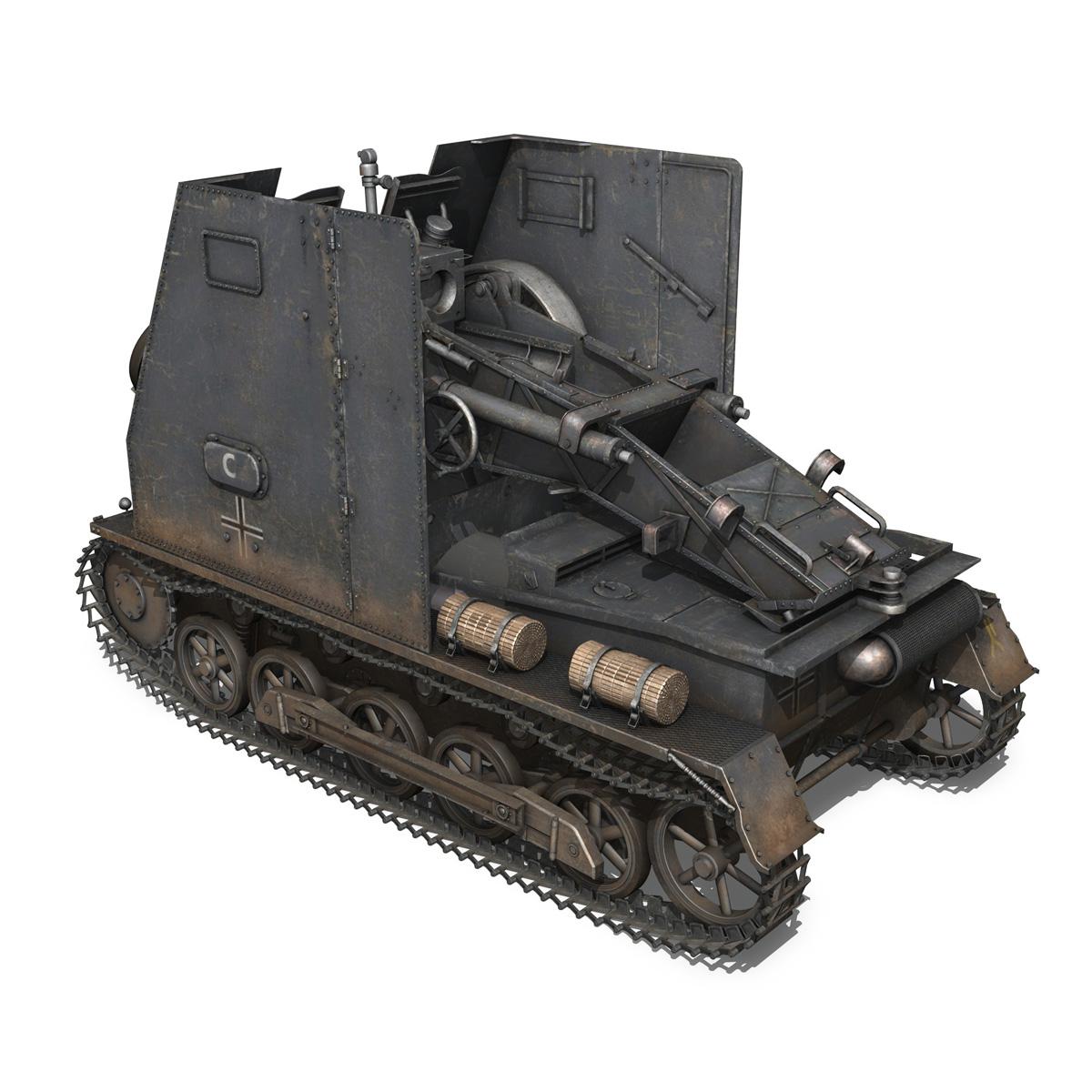 sturmpanzer1 – bison – cambrai- 2.pzdiv 3d model 3ds fbx c4d lwo obj 191339