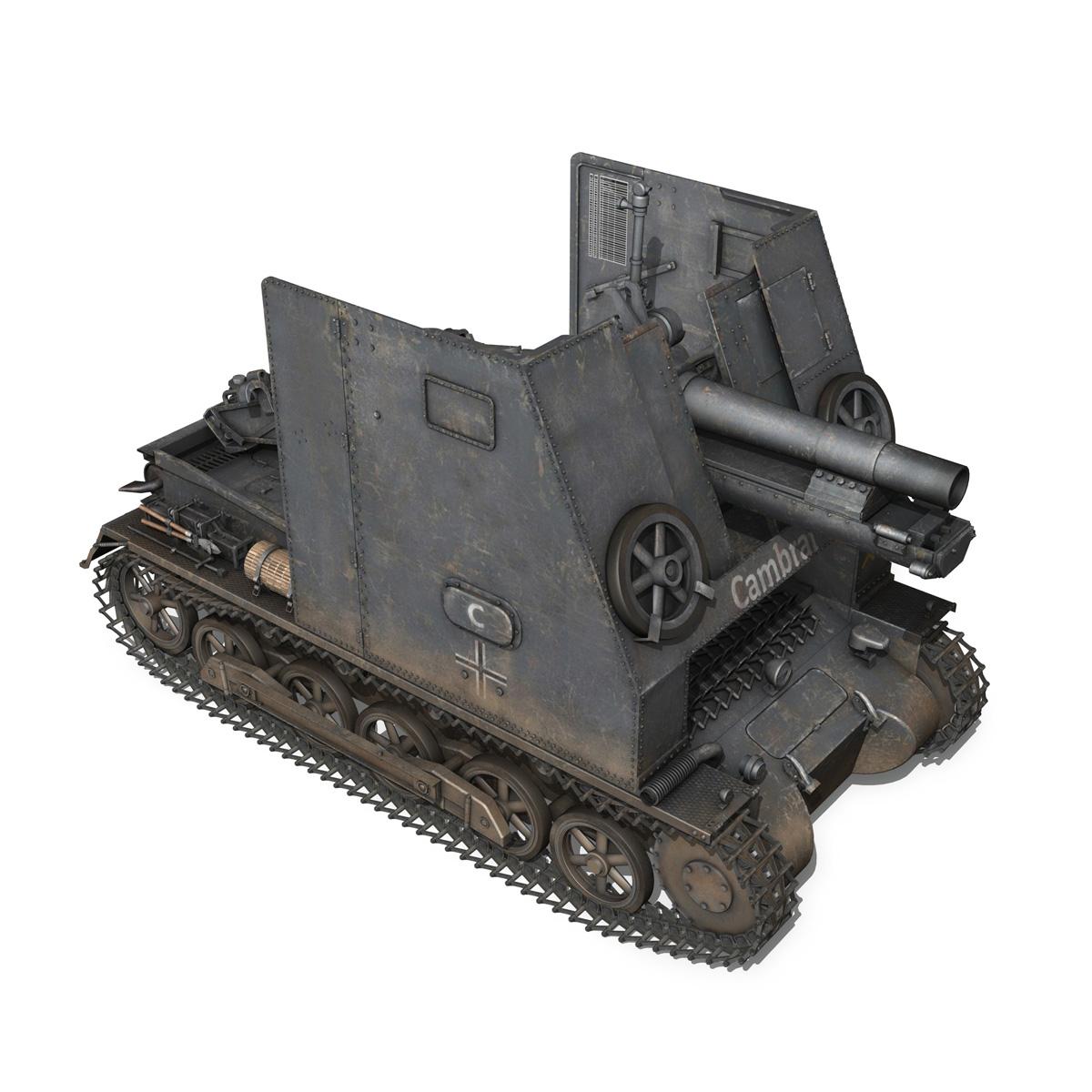 sturmpanzer1 – bison – cambrai- 2.pzdiv 3d model 3ds fbx c4d lwo obj 191342