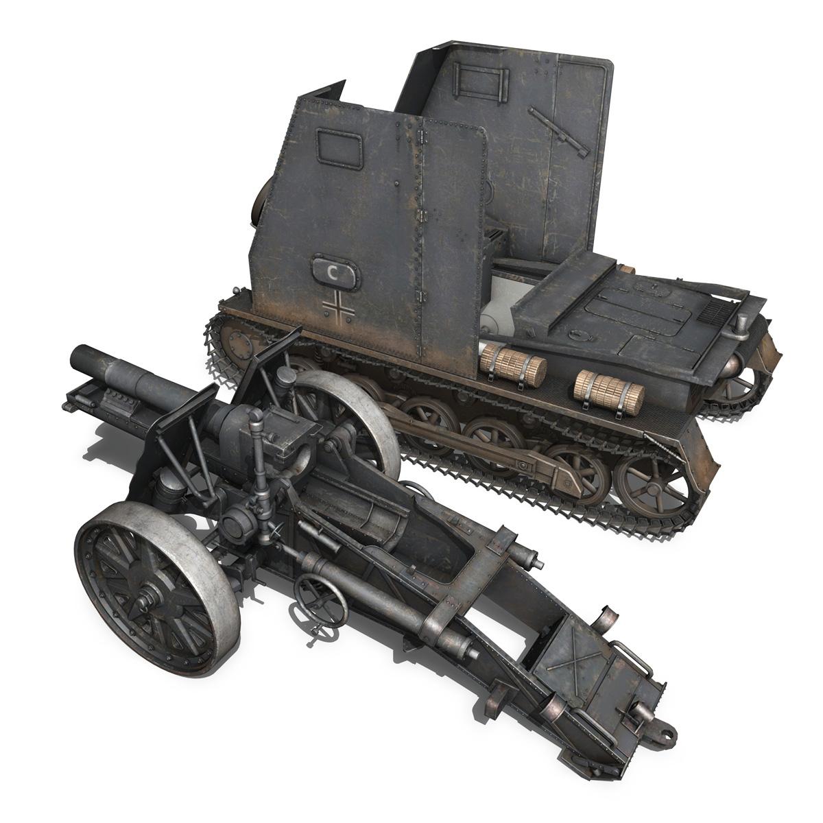 sturmpanzer1 – bison – cambrai- 2.pzdiv 3d model 3ds fbx c4d lwo obj 191344