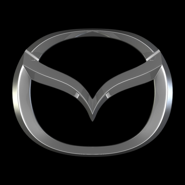 Mazda Logo 3d Model Buy Mazda Logo 3d Model Flatpyramid