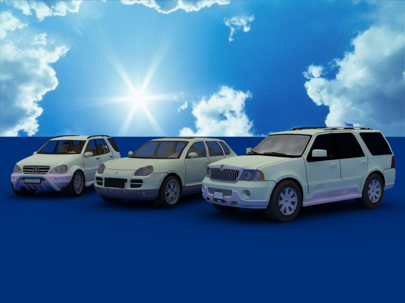Suv Car Collection Flatpyramid