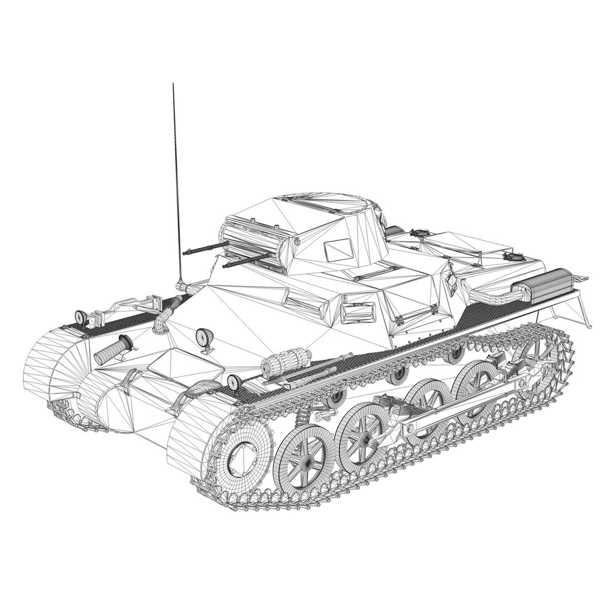 pzkpfw 1 - panzer 1 - ausf. a - Model 224 3d 3ds fbx c4d lwo obj 195081