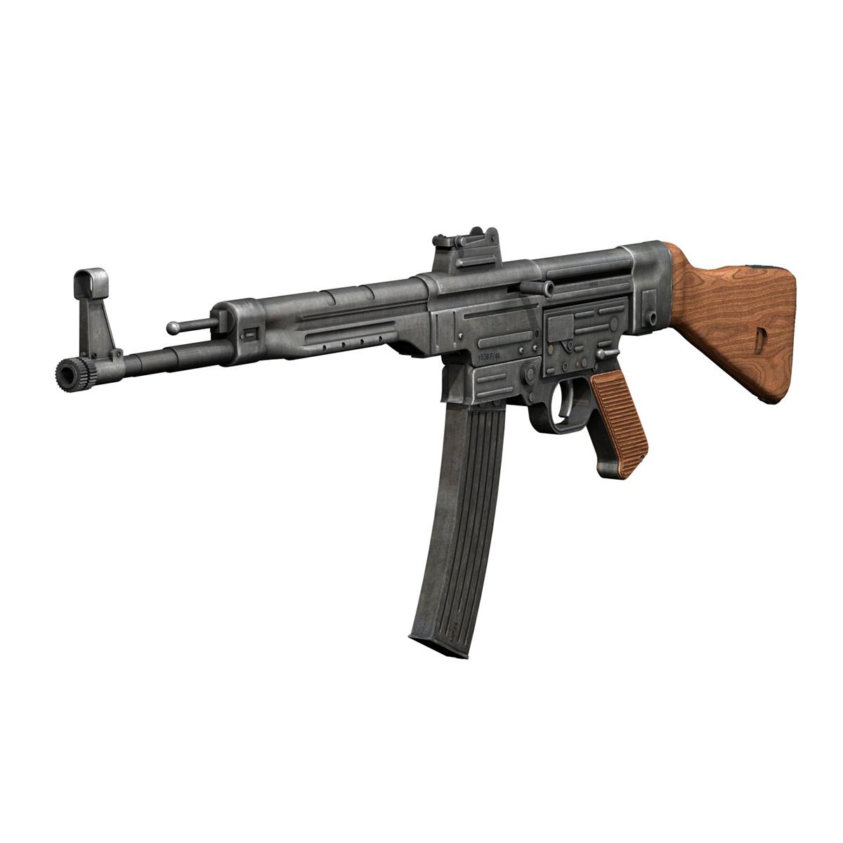 sturmgewehr 44 - mp44 - német támadás puska 3d modell 3ds fbx c4d lwo obj 195174