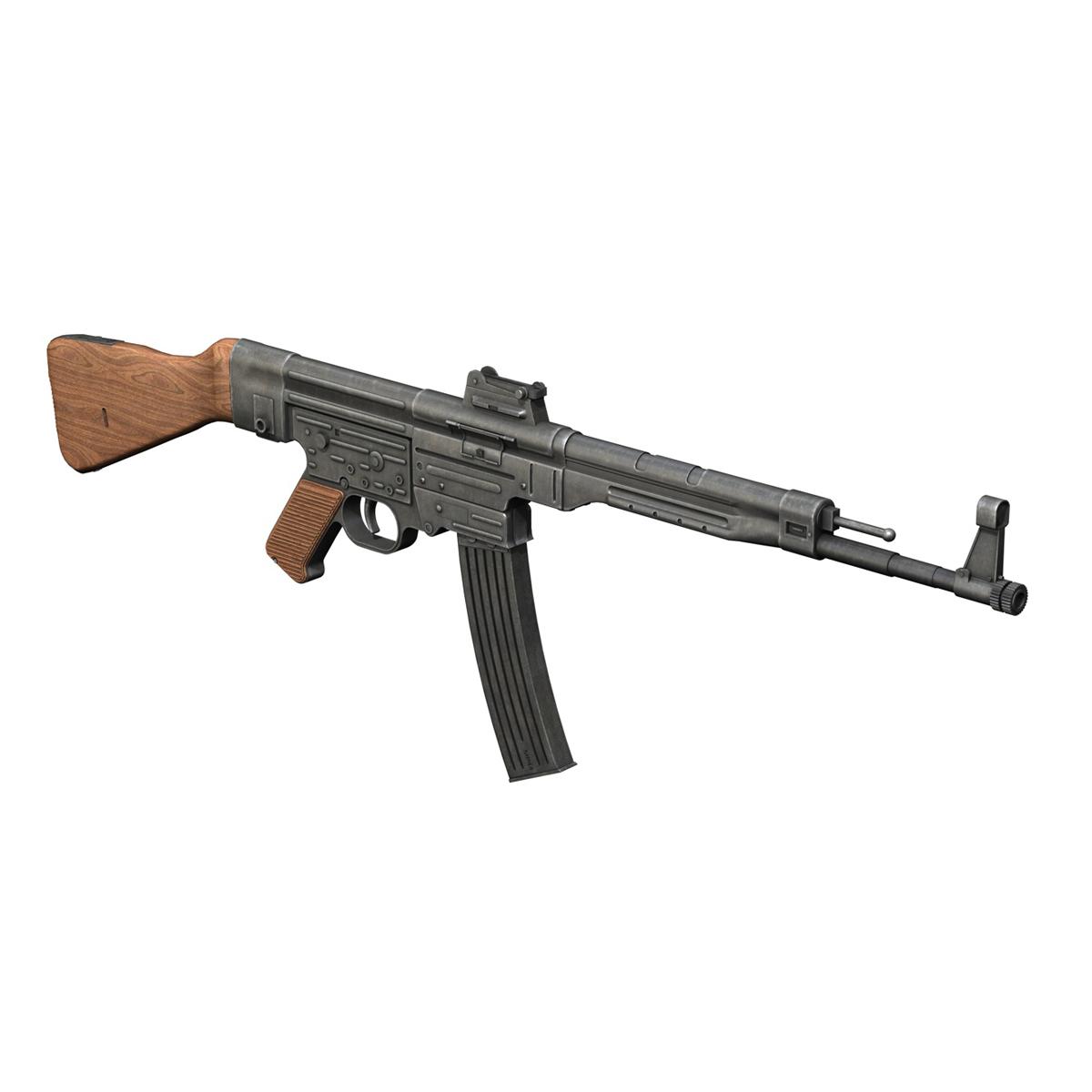 sturmgewehr 44 - mp44 - német támadás puska 3d modell 3ds fbx c4d lwo obj 195175