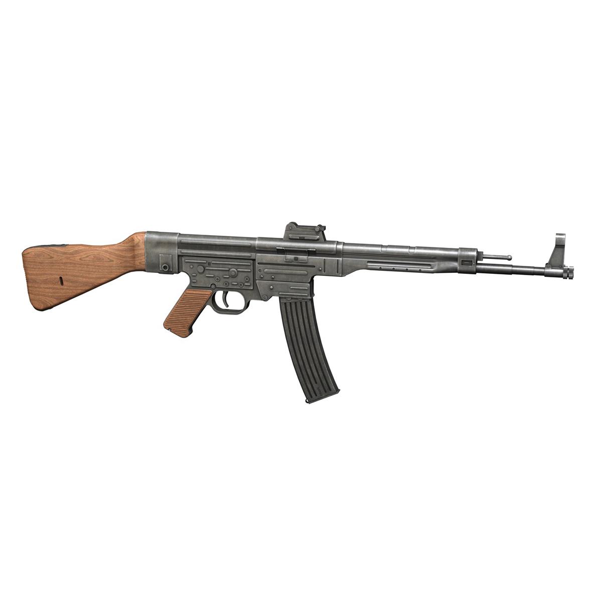 sturmgewehr 44 - mp44 - német támadás puska 3d modell 3ds fbx c4d lwo obj 195176