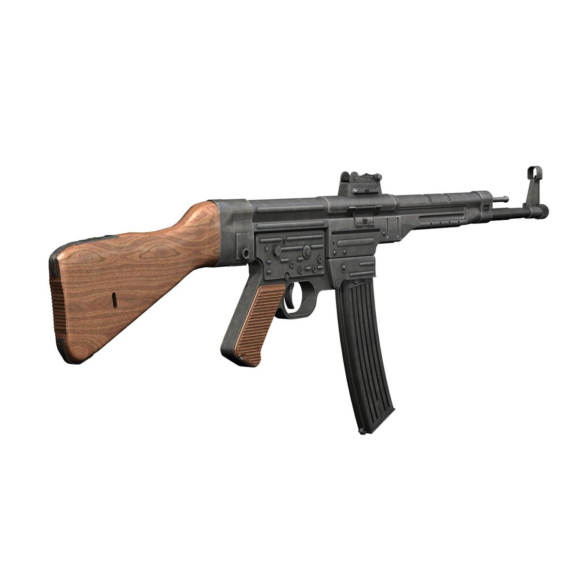 sturmgewehr 44 - mp44 - német támadás puska 3d modell 3ds fbx c4d lwo obj 195177