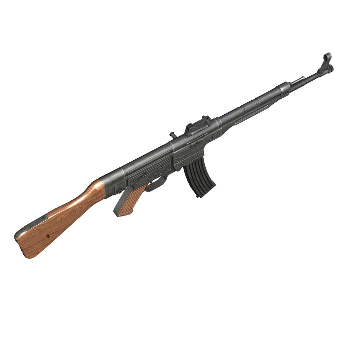 sturmgewehr 44 - mp44 - német támadás puska 3d modell 3ds fbx c4d lwo obj 195178