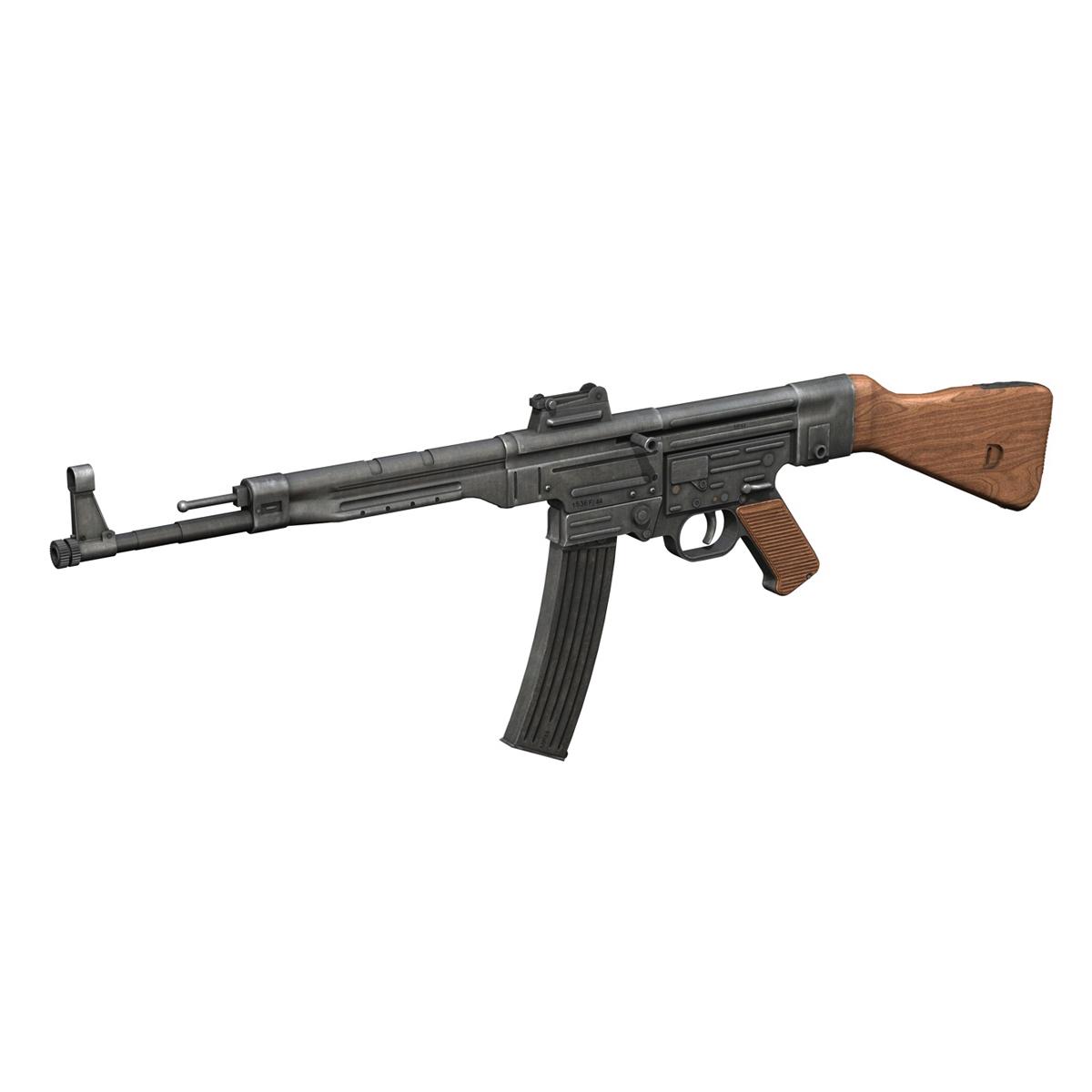 sturmgewehr 44 - mp44 - német támadás puska 3d modell 3ds fbx c4d lwo obj 195179