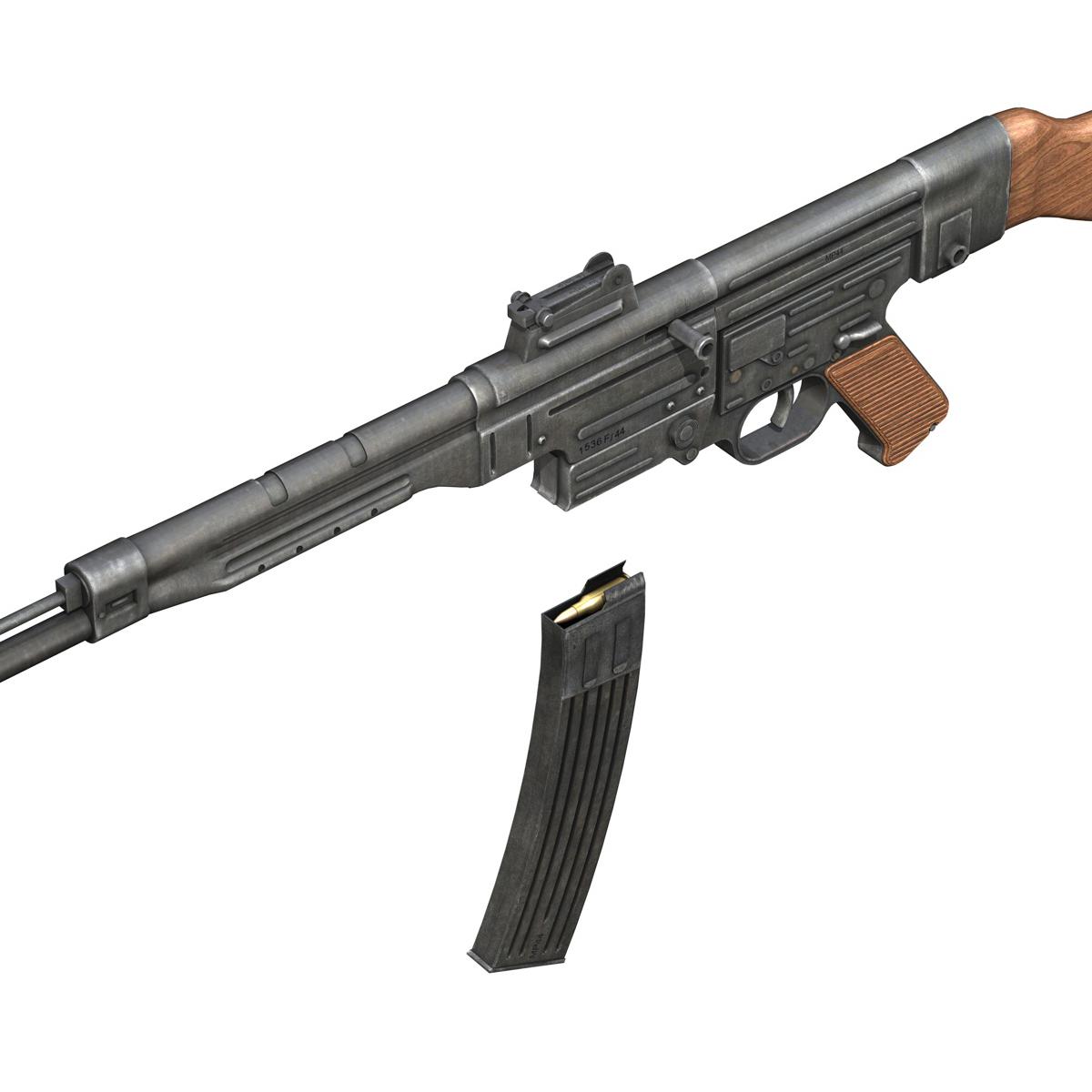 sturmgewehr 44 - mp44 - német támadás puska 3d modell 3ds fbx c4d lwo obj 195180