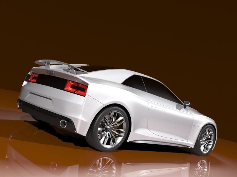 Audi Quattro Concept 2010 3d Model Flatpyramid
