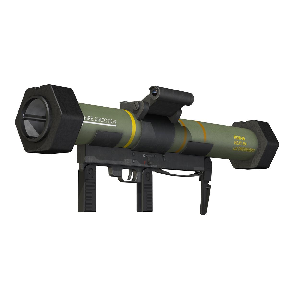 anti-armor launcher matador 3d model 3ds fbx c4d lwo obj 197070