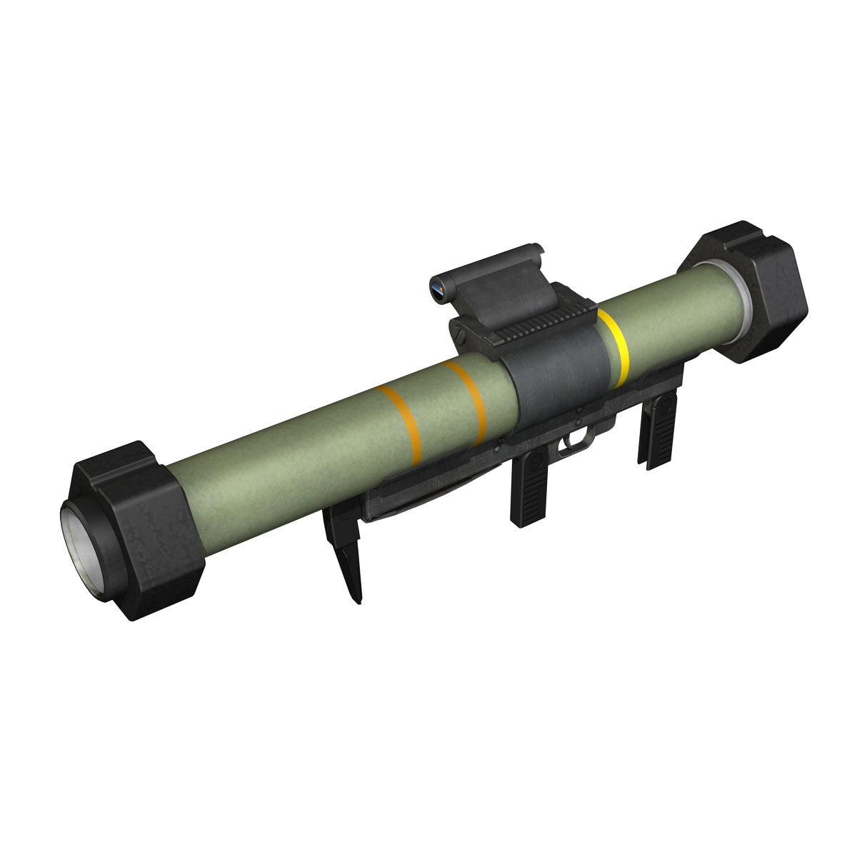 anti-armor launcher matador 3d model 3ds fbx c4d lwo obj 197072
