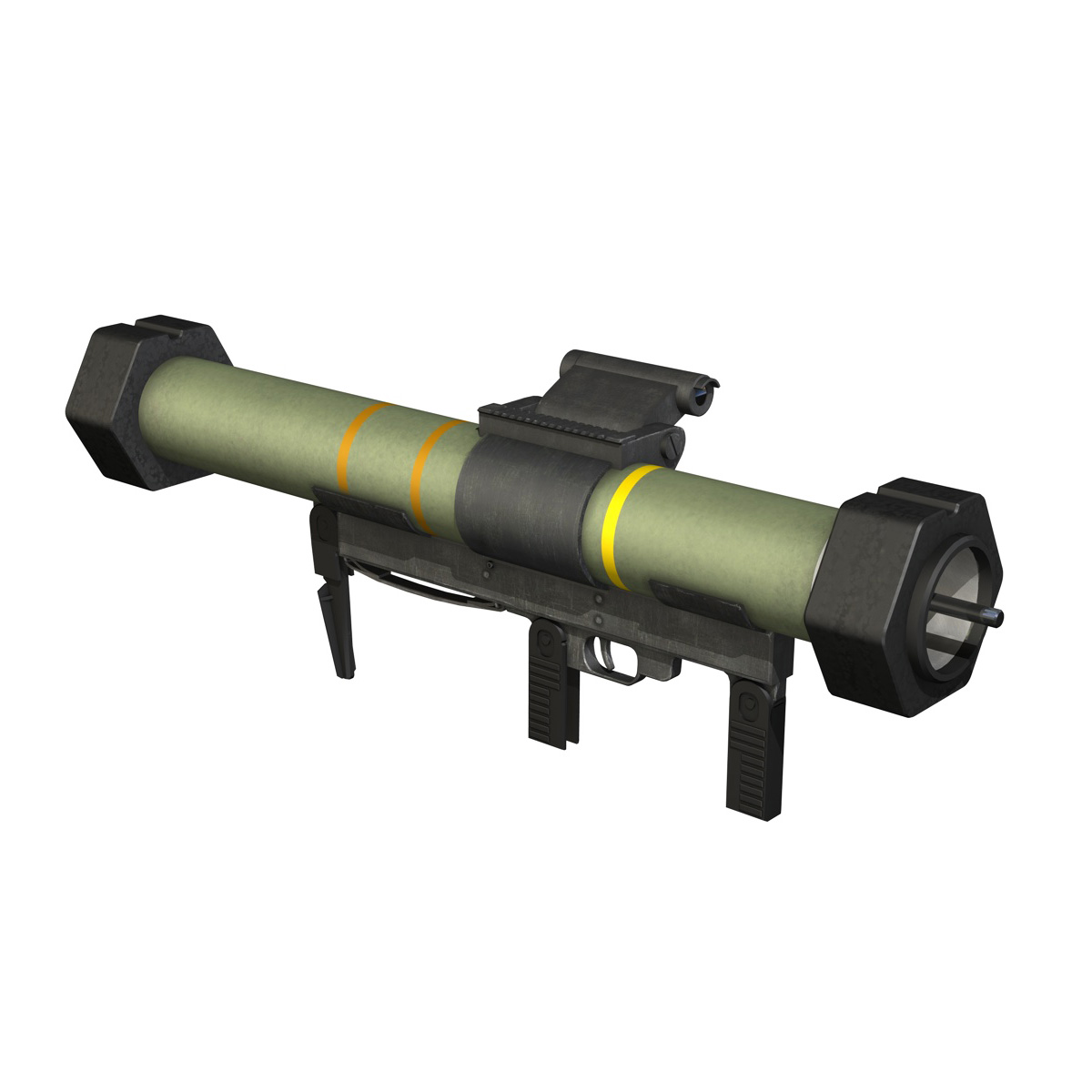 anti-armor launcher matador 3d model 3ds fbx c4d lwo obj 197073