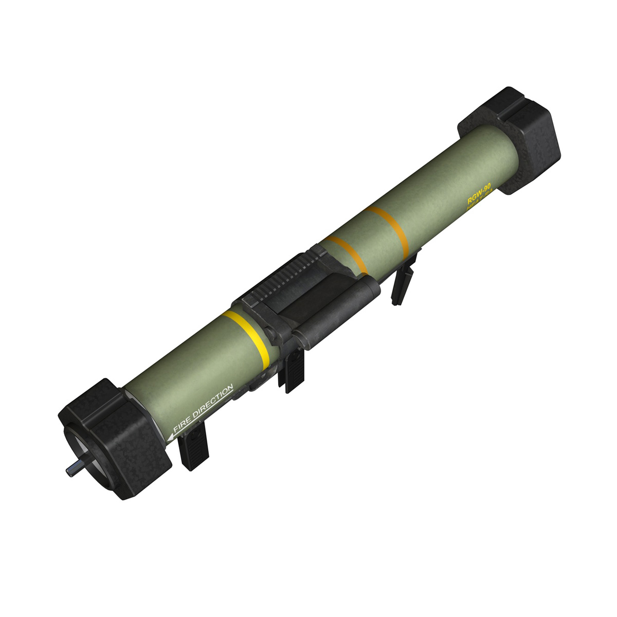 anti-armor launcher matador 3d model 3ds fbx c4d lwo obj 197075