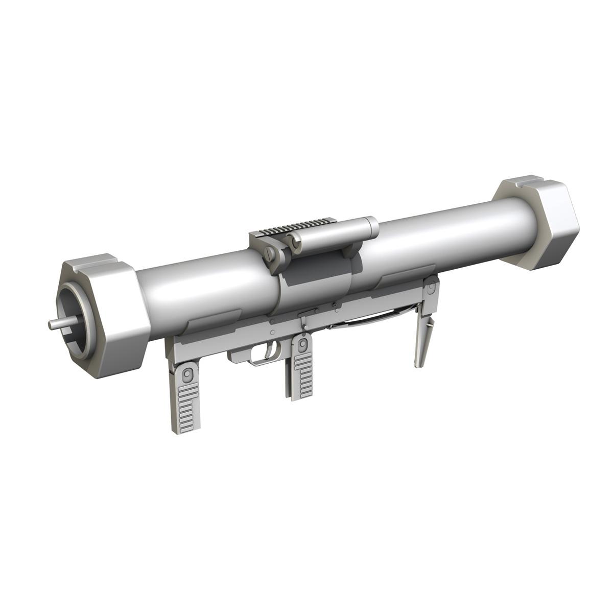 эсрэг хуяг Launcher Matador 3d загвар 3ds fbx c4d lwo obj 197076