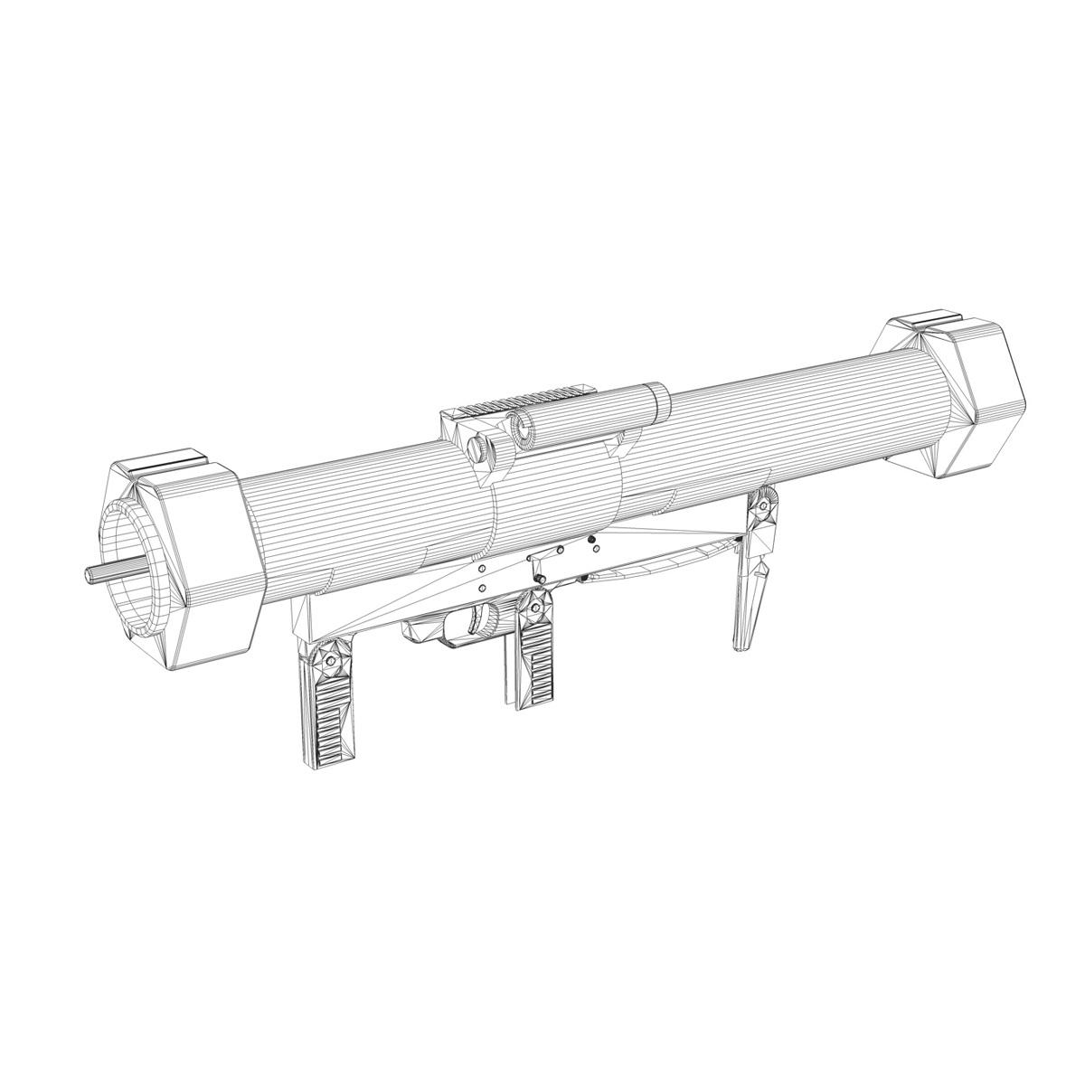 эсрэг хуяг Launcher Matador 3d загвар 3ds fbx c4d lwo obj 197077