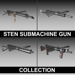 STEN Submachine gun - Collection ( 181.13KB jpg by Panaristi )